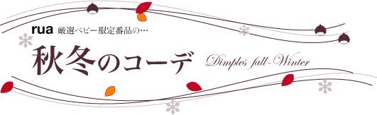 ベビー服Dimples秋服のコーデ