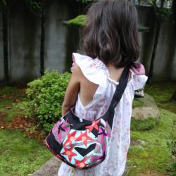 ruaオリジナルマザーズバッグ星の花クリーム詳細