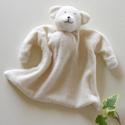 ニキティキ ほおずり人形タオル しろくま