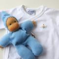 出産祝いにDimplesのベビー服 ニキティキのおもちゃとコーデ