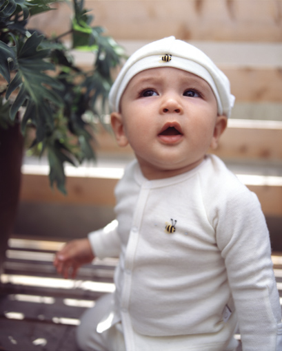 出産祝いにDimplesのベビー服カーディガン